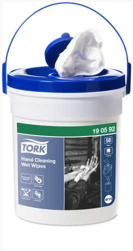 Tork Våtdukar för Handrengöring