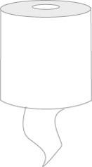 Katrin Basic Hand Towel Roll S Coreless