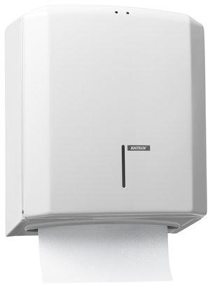 Katrin Hand Towel M Dispenser - White Metal