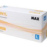MAX Vinylhandske Opudrad L