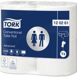 Tork Extra Långt Toalettpapper Advanced – 2-lagers T4