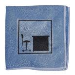 Vikur Clean T2 Microfiberduk Blå Skrivbordsymbol 30x30cm